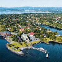 Hovedstaden ved fjorden